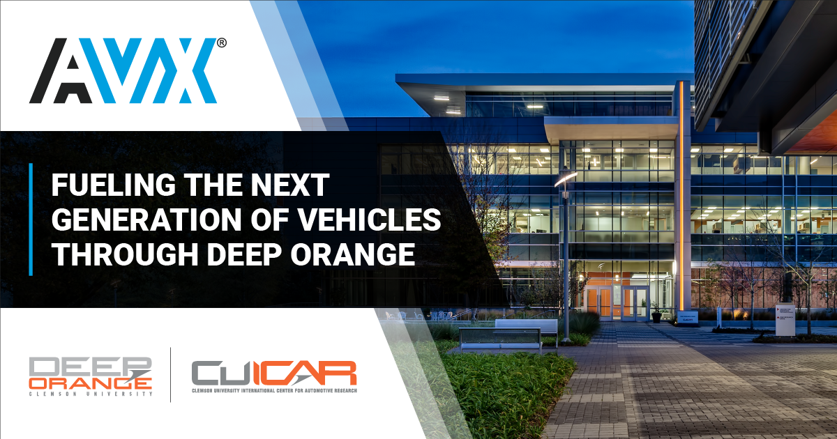 AVX fuels next generation of Clemson vehicle prototyping through Deep Orange