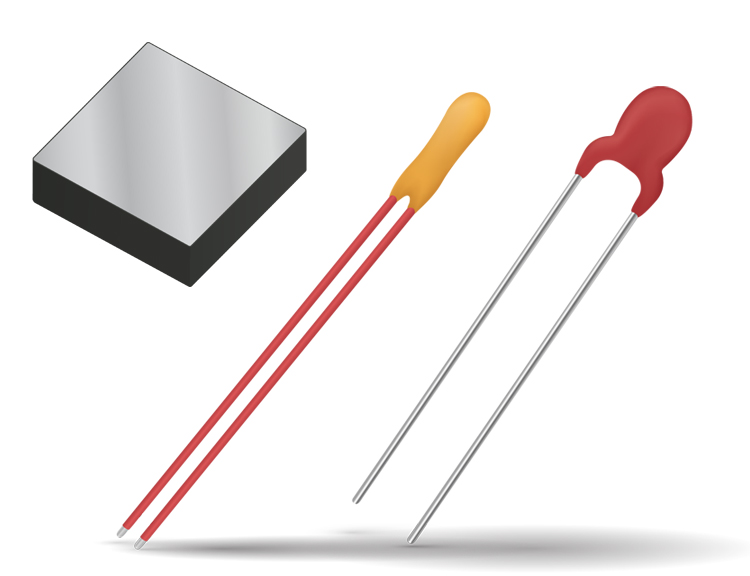 Accurate Thermistors (Leaded & Leadless)