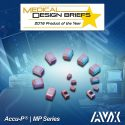 AVX Wins Medical Design Briefs' 2016 Readers' Choice Product of the Year Award