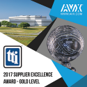 AVX Earns 2017 TTI Supplier Excellence Award