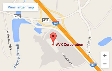 Contact Us | AVX